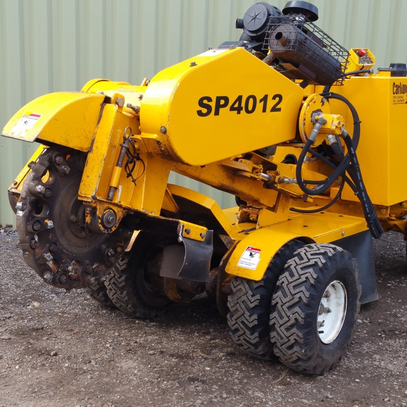stump machine for sale