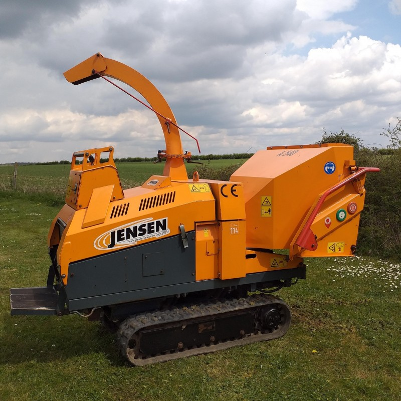 Jensen A540T Tracked Woodchipper
