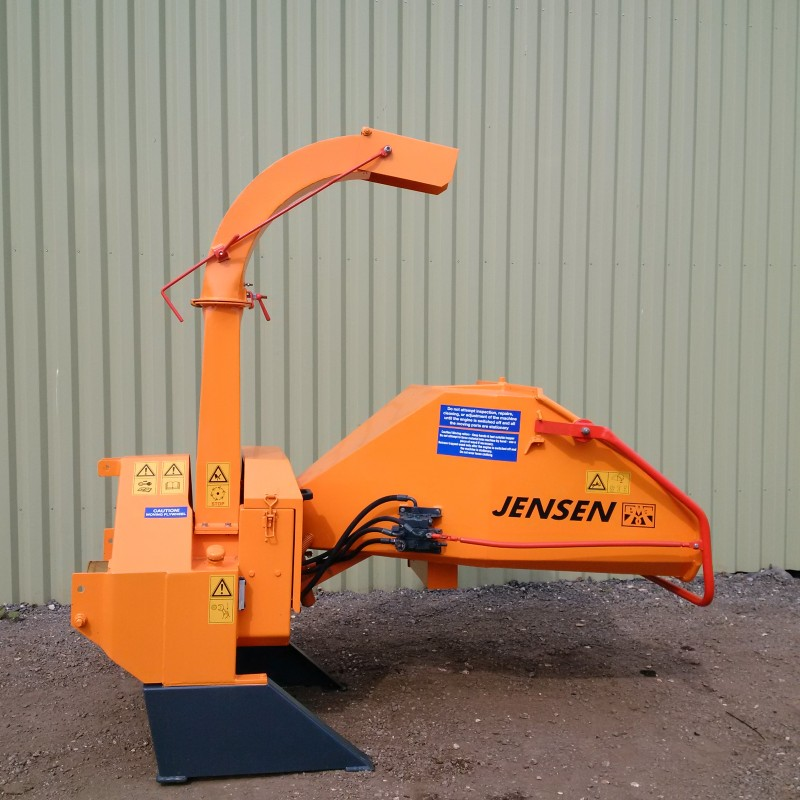 Jensen A521 PTO Wood Chipper for sale. Code 277