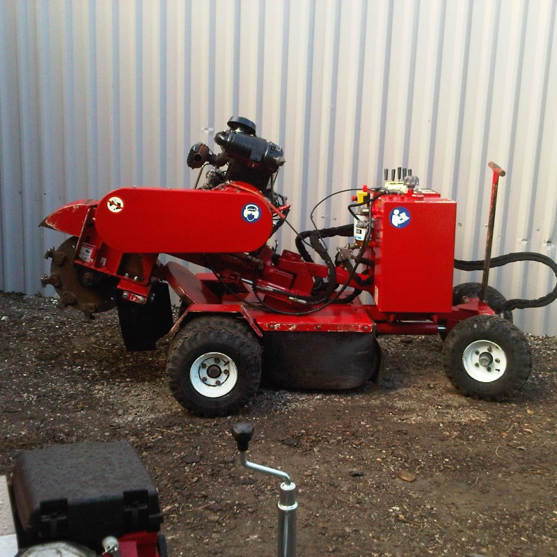 Carlton SP4012 Diesel Stump Grinder For Sale