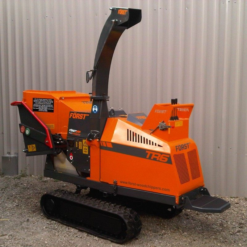 Forst TR6 Wood Chipper For Sale