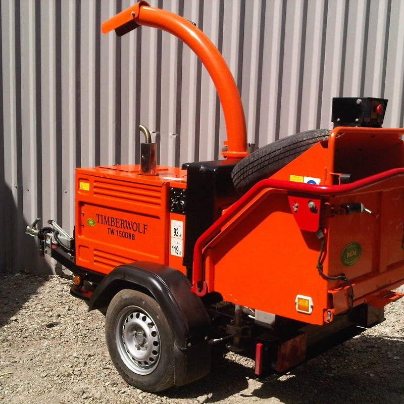 Timberwolf TW 150DHB Wood Chipper For sale-