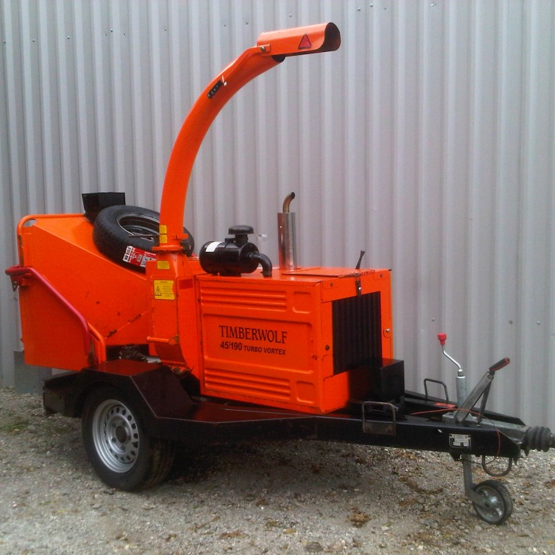 Timberwolf TW190 Turbo Vortex Wood Chipper For Sale
