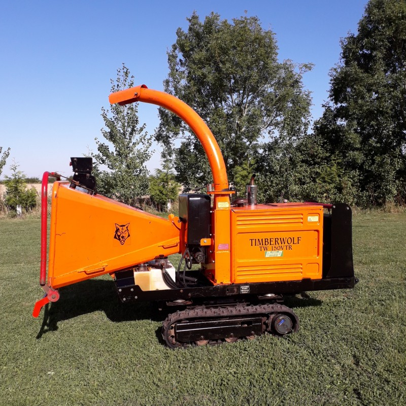 Timberwolf TW150 VTR Tracked Wood Chipper
