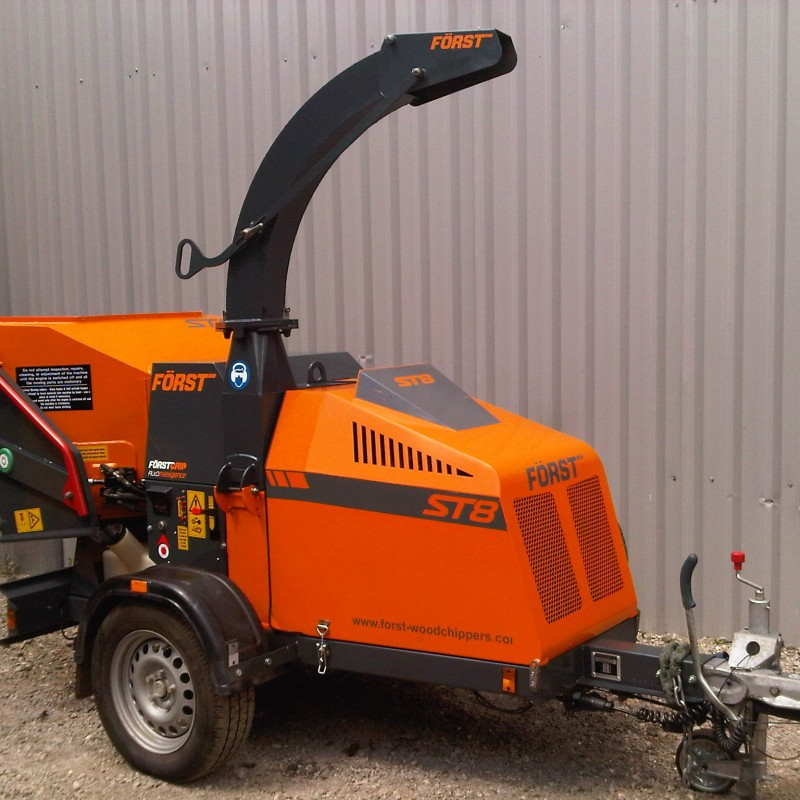 Forst ST8 Wood Chipper For Sale