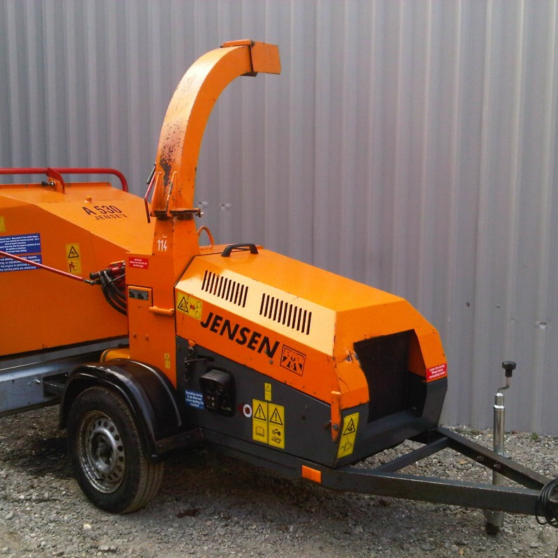 Jensen A530Di 750kg Wood Chipper For Sale